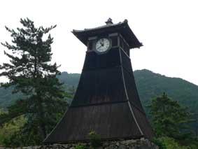 辰鼓櫓(しんころう)の時計台
